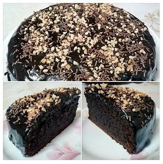 Resepi Kek Coklat Bakar Simple