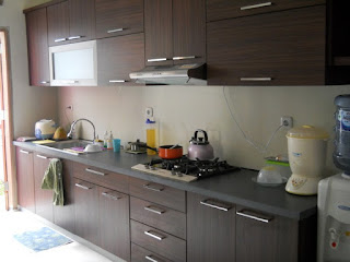 Apakah Kitchen Set Tahan Air