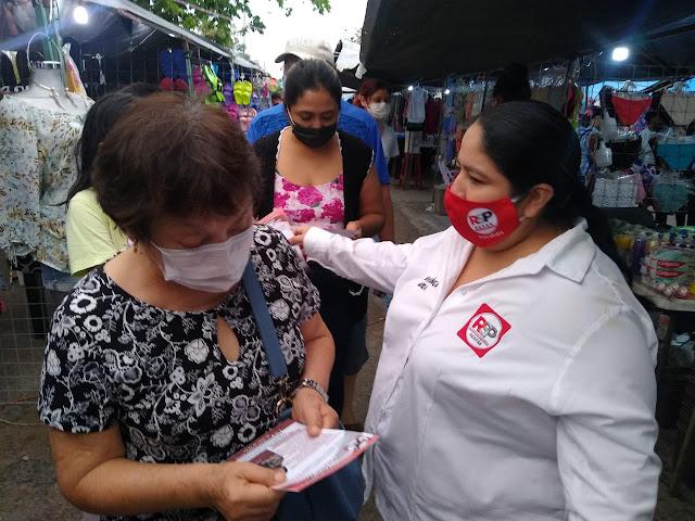 Con ánimo y con vigor vamos por una Mérida progresista: Ninive Zúñiga