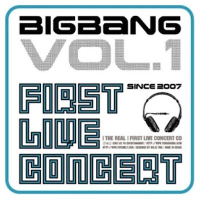 BIGBANG - First Live Concert: The Real First Live Concert [MP3] - YG