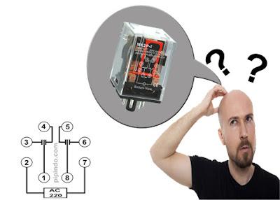 Relay merupakan komponen kontrol yang sudah tidak asih lagi bagi panel maker
