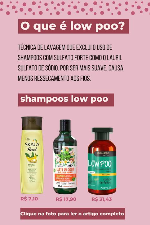 shampoo low poo