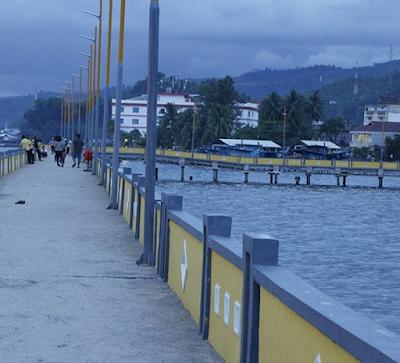 Jembatan Kuning Sibolga, Tempat Yang Cocok Melihat Sunset Dan Keindahan Laut Sibolga