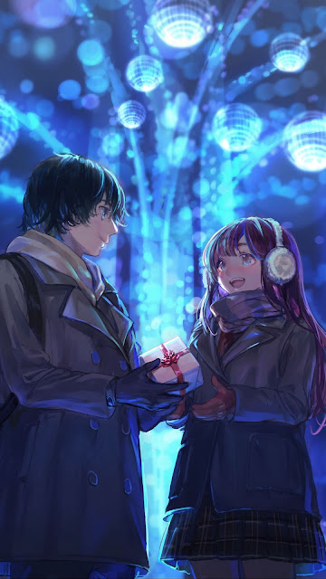 Anime pairs wallpaper