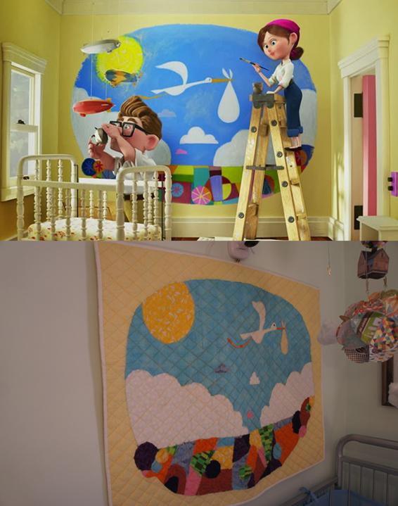The Alabama Wife Roberts Disney Pixar Up Themed Nursery