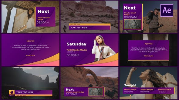 Gradient Broadcast Package[Videohive][After Effects][29008623]
