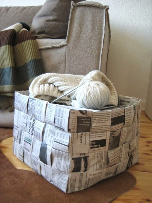 Kerajinan Tangan Dari Koran, Aneka Kreasi Kertas Koran Bekas 14