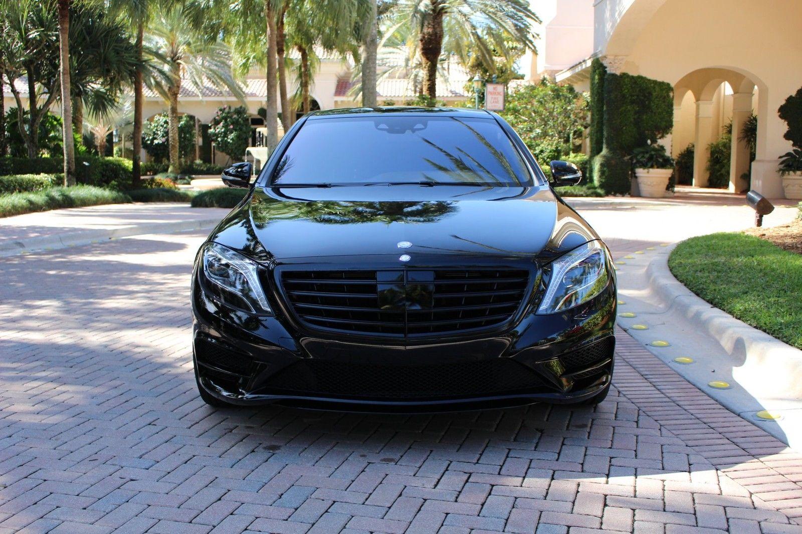 Mercedes W S Black On Black