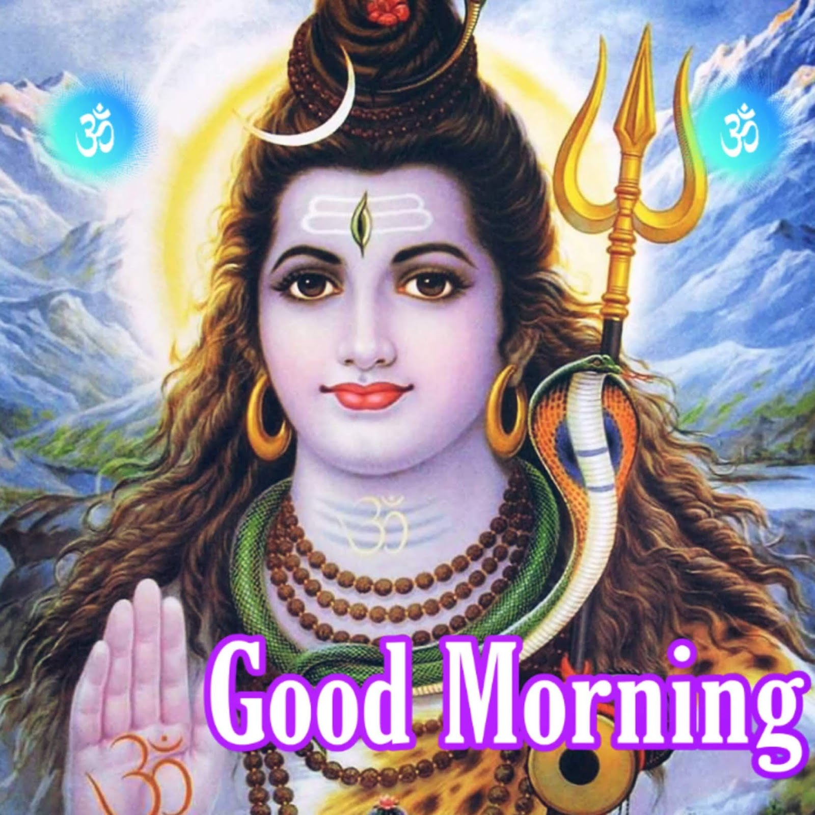 Good Morning Lord Shiva Images With Shubh Somvar Pictures Wallpaper Download Best Wishes Image