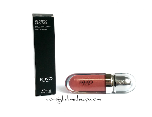 Review:  3D Hydra Lipgloss N°17 - Kiko Cosmetics