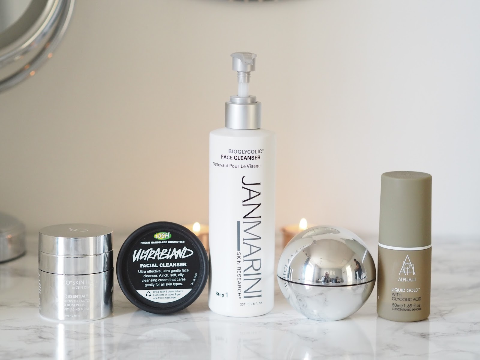 evening cleansing routine ZO Skin Health Jan Marini Lush beauty Priceless Life of Mine Over 40 lifestyle blog