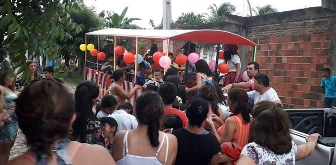 Bloco Só Canela realiza mais um Carnaval das Crianças em Senador Sá!