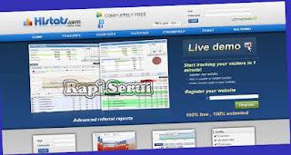 Begini Cara Mudah Daftar Dan Memasang Histats Panel Kendali Pada Blog Statistik Blog
