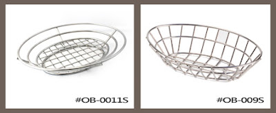 stainless steel basket, bread basket, fruit basket, metal basket