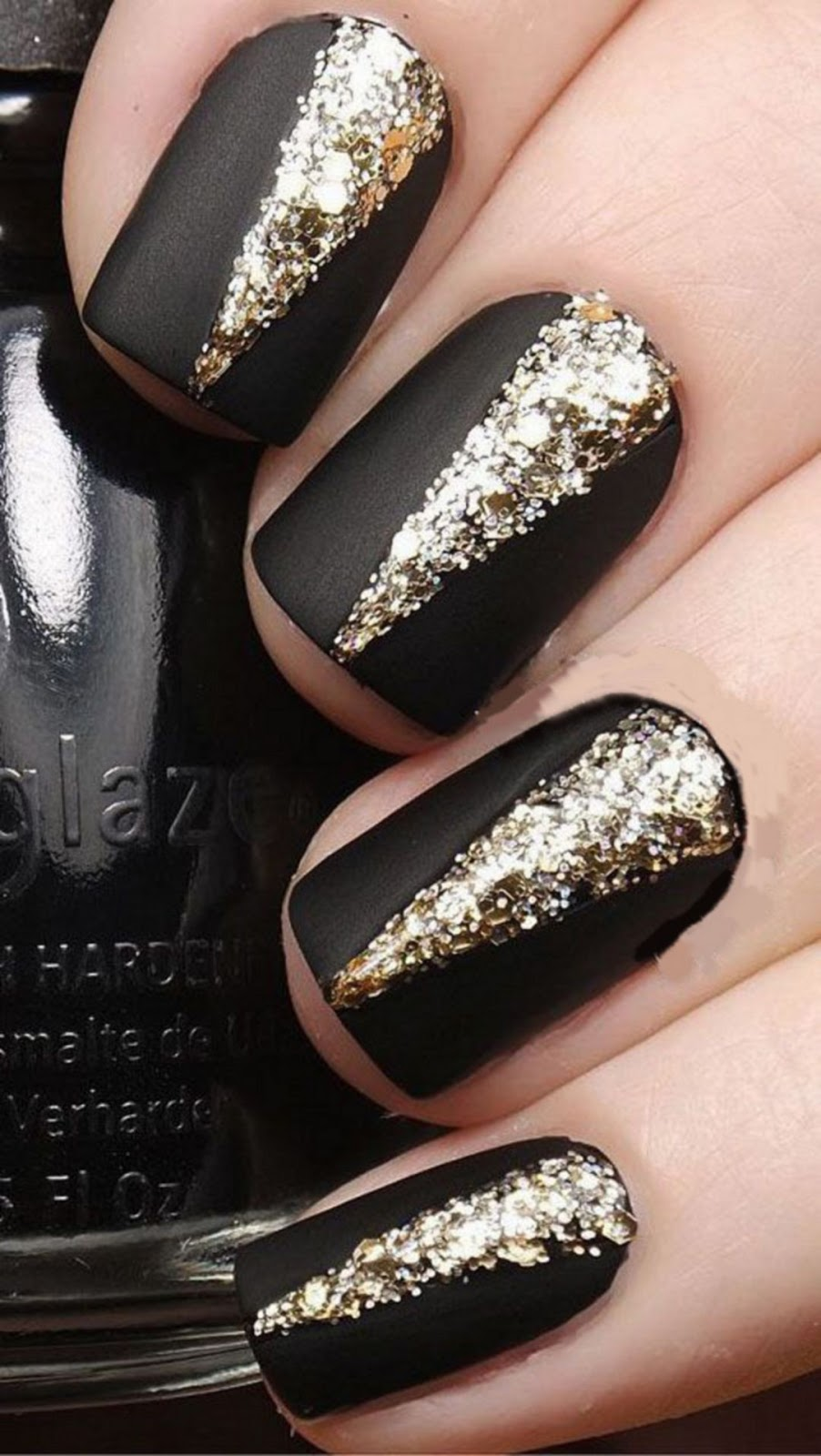 beautiful nail design to try this winter