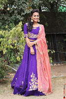 Actress Shraddha Srinath in Purple Chania Choli Cute Pics ~  Exclusive 12.jpg