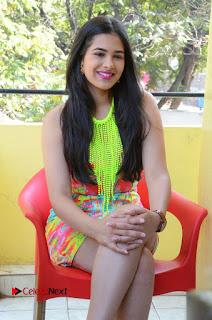 Telugu Actress Prasanna Stills in Short Dress at Inkenti Nuvve Cheppu Press Meet Stills  0155.JPG