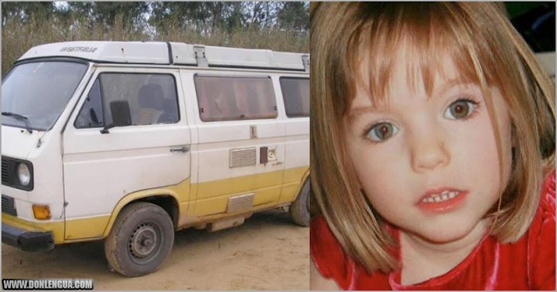 Madeleine fue vista en esta camioneta 3 semanas después de su secuestro