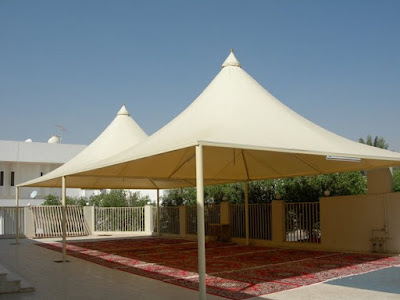 حداد مظلات سيارات في الرياض