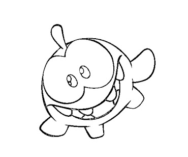 Cut the rope coloring pages ~ #5 Cut The Rope Coloring Page