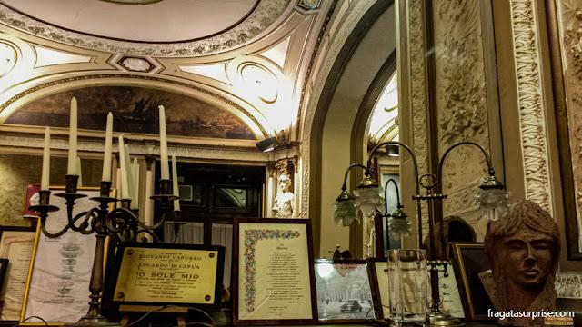 Salão de chá do Caffè Gambrinus