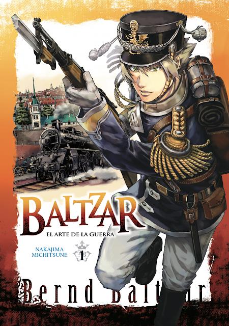 Reseña de Baltzar: El Arte de la Guerra (Gunka no Baltzar) de Michitsune Nakajima, Arechi Manga