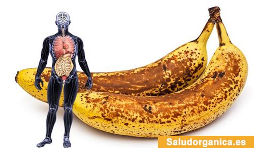 cosas que suceden en su cuerpo cuando come plátanos
