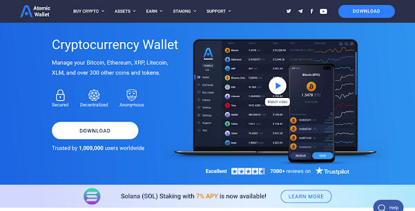 Atomic Wallet for XRP Store