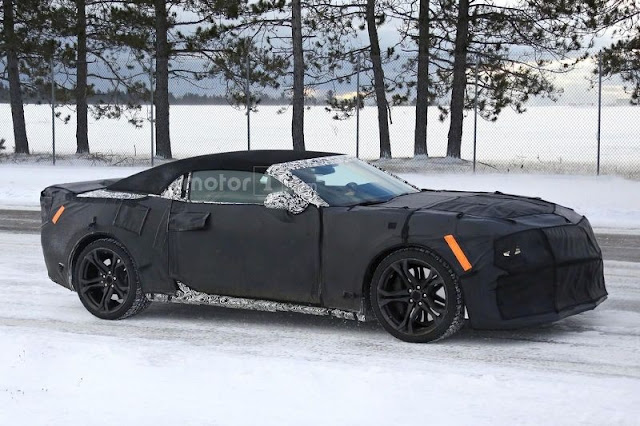 Camera 2017 Camaro ZL1Caught on Camera  Middle Tested/Test drive