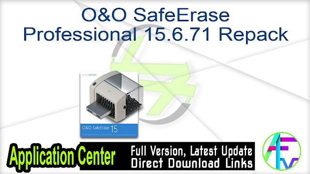 O&O SafeErase Professional 15.6.71 Repack
