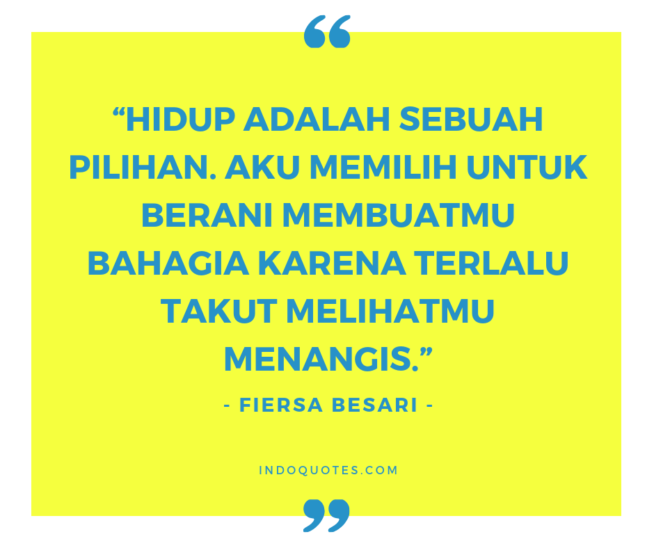 67 Quotes Fiersa Besari Konspirasi Alam Semesta Indoquotes Com