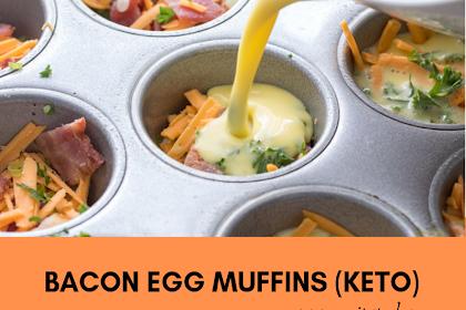 Bacon Egg Muffins (Keto)