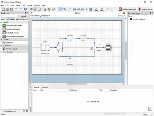 تحميل برنامج نمذجة ومحاكاة متطور وقوي وشامل مع مجموعة قابلة للتخصيصWolfram SystemModeler 12.0