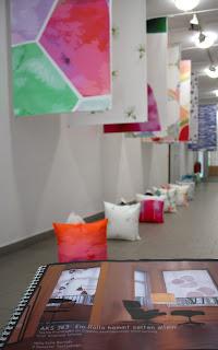 Textildesign Studenten erproben die Praxis