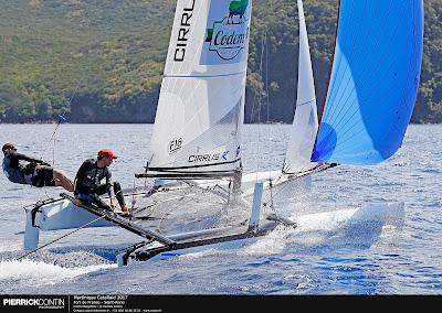 la Martinique Cata Raid réunit 37 bateaux