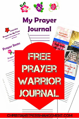 Free Printable Prayer Warrior Journal