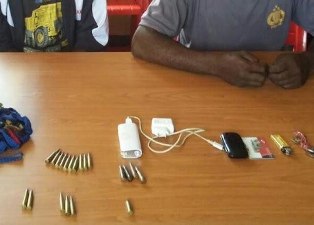 Pasok Amunisi Untuk OPM Oknum Polisi dan Dua Rekannya Berhasil Ditangkap