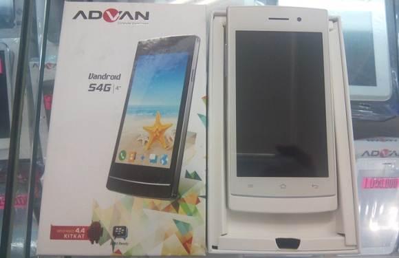 Harga dan Spesifikasi Advan Vandroid S4G