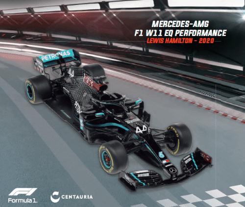 LE GRANDI FORMULA 1 MERCEDES-AMG F1 W11 EQ PERFORMANCE 2020