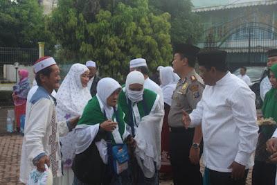 112 Jemaah Haji Asal Kota Tanjungbalai Telah Tiba