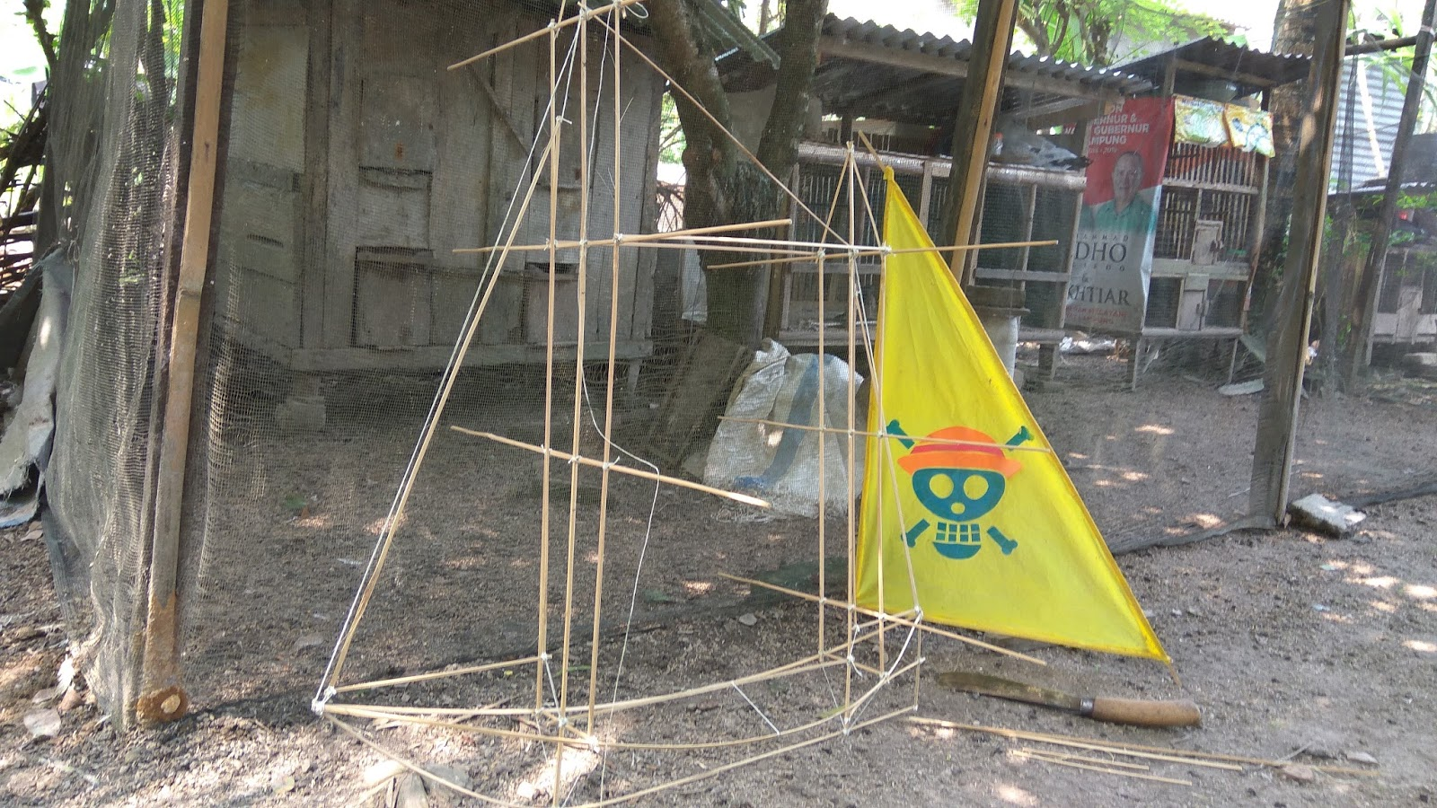 Membuat Kerangka Layangan Perahu Final  Matematika2