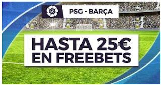 Paston promo PSG vs Barcelona 10-3-2021