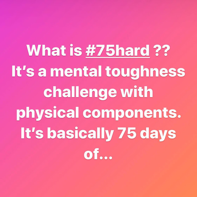What is 75 Hard #75hard