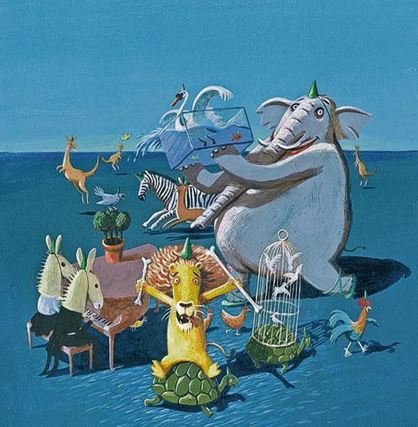 programmamuziek  'de moldau' 'carnaval der dieren' en