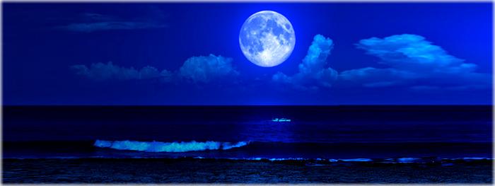 março terá duas luas cheias e uma lua azul