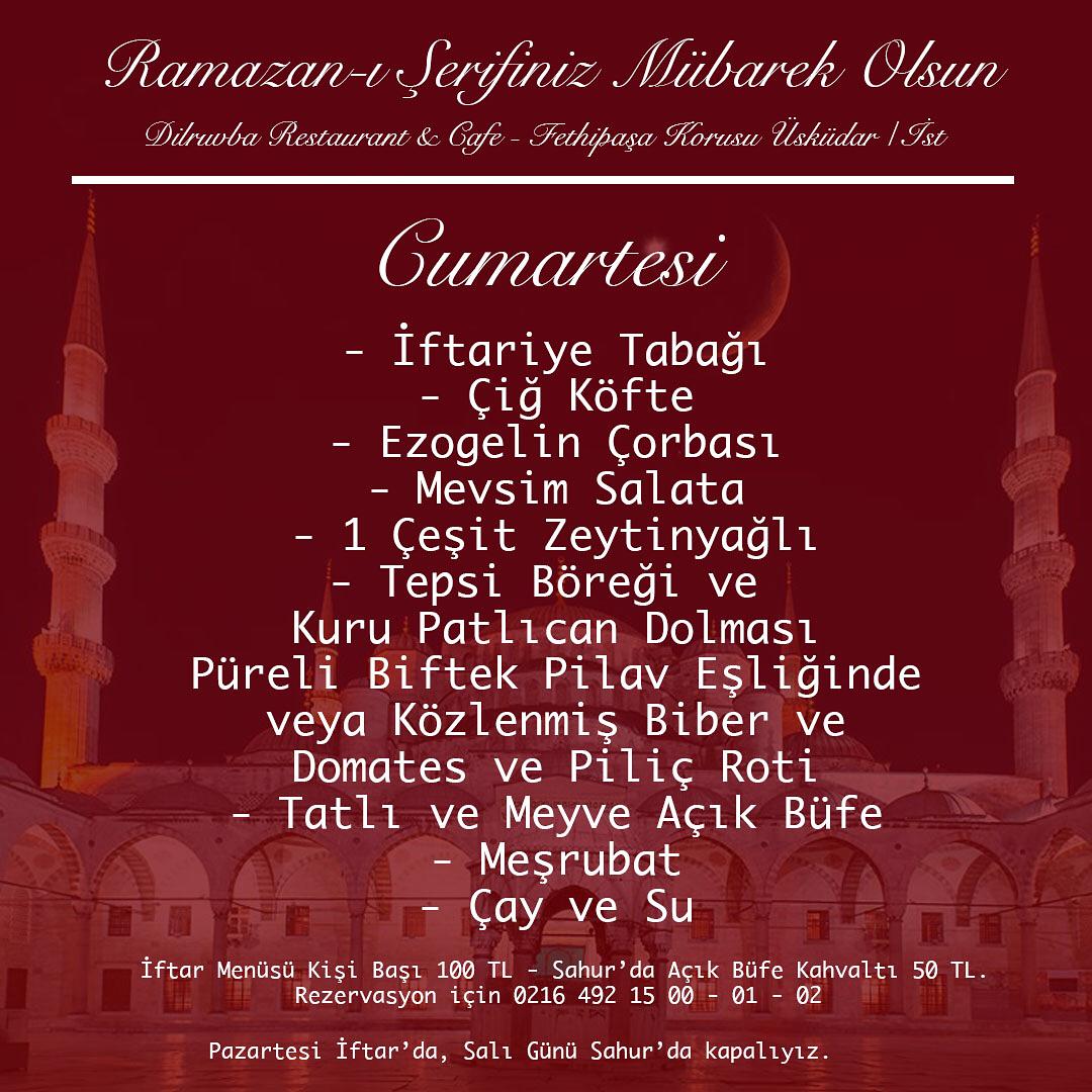 Dilruba Restaurant İstanbul uskudar