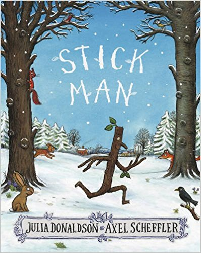 Front cover of the Stick Man book