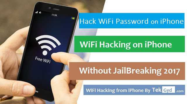 crack wifi password jailbroken iphone