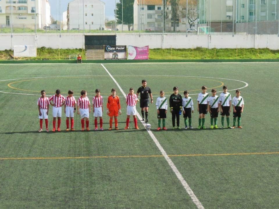 "Infantis B ""A""  18.ª Jornada – 1.ª Fase Campeonato Distrital – 22 2 2014.  Olímpico Montijo - 1   FC Barreirense"