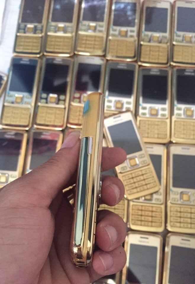 280k - Điện thoại Nokia 6300 mạ vàng giá sỉ và lẻ rẻ nhất